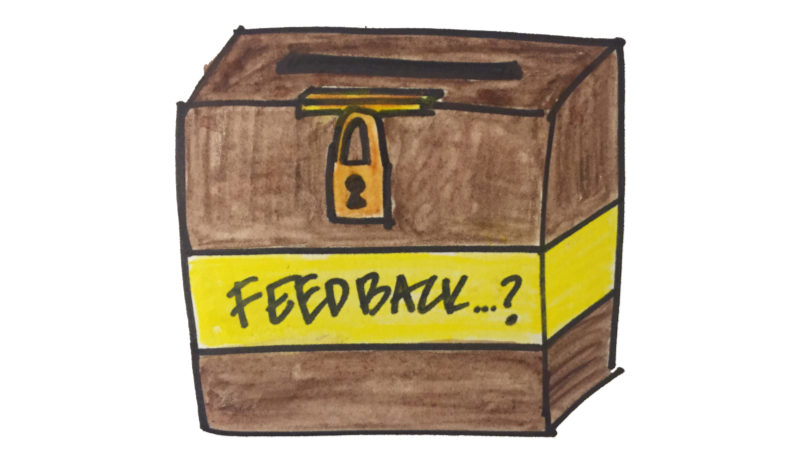 The evils of anonymous employee feedback