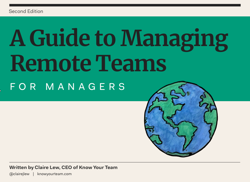 "Our ""Guide to Managing Remote Teams"" is now free"